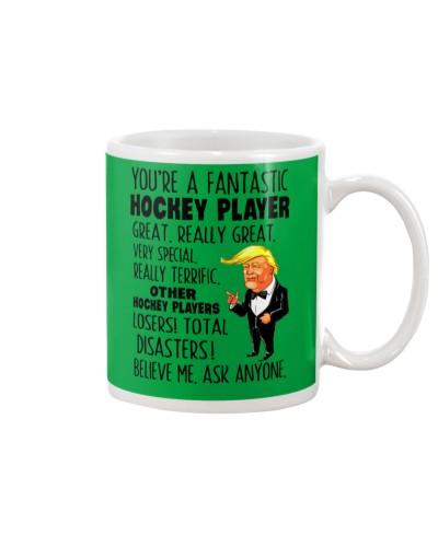 Fantastic hockey player