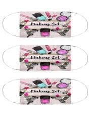 makeup clip art mas Cloth Face Mask - 3 Pack front