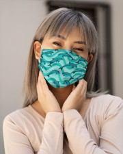 Dolphin Pattern Msk 5 Cloth Face Mask - 3 Pack aos-face-mask-lifestyle-17