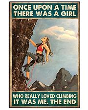 climbing girl once upon a time poster 11x17 Poster front
