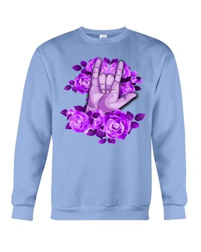 sign-language-purple-rose
