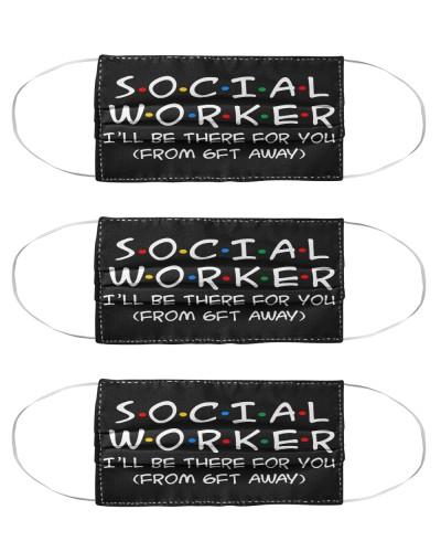 social worker 6ft away mas