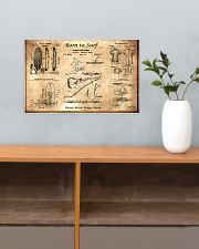 surfing patent pt lqt ngt 17x11 Poster poster-landscape-17x11-lifestyle-24