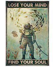 scuba diving lose mind find soul pt phq ngt 16x24 Poster front