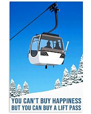 skiing you cant buy happiness 11x17 Poster front