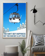 skiing you cant buy happiness 11x17 Poster lifestyle-poster-1