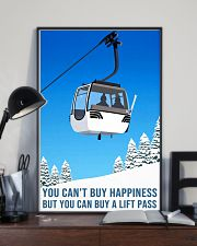skiing you cant buy happiness 11x17 Poster lifestyle-poster-2