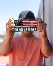 basketball us flag mas Cloth face mask aos-face-mask-lifestyle-05