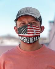 basketball us flag mas Cloth face mask aos-face-mask-lifestyle-06