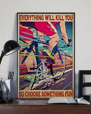 cycling choose something fun 19 poster 11x17 Poster lifestyle-poster-2