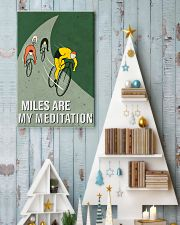 cycling mile are my meditation 11x17 Poster lifestyle-holiday-poster-2