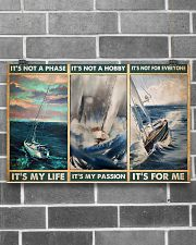 sailboat its not a phase pt mttn pml 17x11 Poster poster-landscape-17x11-lifestyle-18