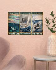 sailboat its not a phase pt mttn pml 17x11 Poster poster-landscape-17x11-lifestyle-22