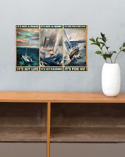 sailboat its not a phase pt mttn pml 17x11 Poster poster-landscape-17x11-lifestyle-24