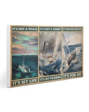 sailboat its not a phase pt mttn pml 30x20 Gallery Wrapped Canvas Prints thumbnail