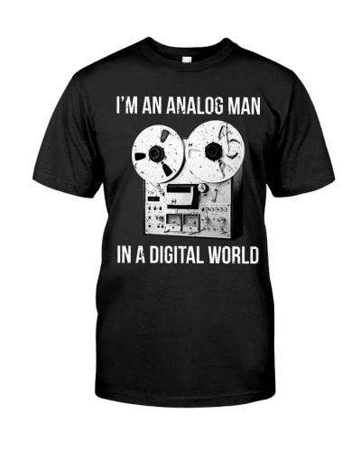audio engineer Analog Man