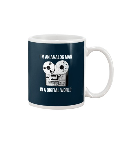 audio engineer Analog Man