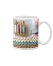 crochet phonecase pattern Mug tile