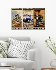 dirt bike not a phase pt phq ngt 24x16 Poster poster-landscape-24x16-lifestyle-01