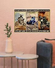 dirt bike not a phase pt phq ngt 24x16 Poster poster-landscape-24x16-lifestyle-22