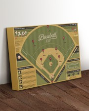 Baseball 101 canvas dvhh-ntv 14x11 Gallery Wrapped Canvas Prints aos-canvas-pgw-14x11-lifestyle-front-17