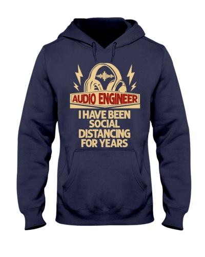 audio engineer have been social distancing
