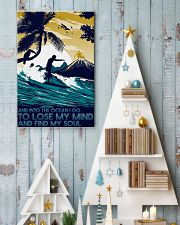surfing into ocean poster 11x17 Poster lifestyle-holiday-poster-2