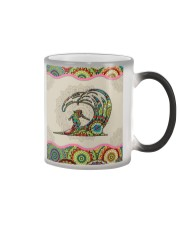 surfing mandala phonecase Color Changing Mug tile