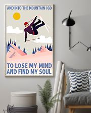 skiing tignes lose my mind and find my soul 11x17 Poster lifestyle-poster-1