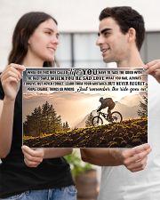 mountain biking on this ride mttn ntv1 17x11 Poster poster-landscape-17x11-lifestyle-20
