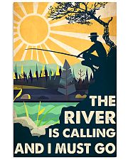Fishing river Calling 11x17 Poster front
