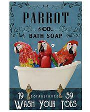 Parrot Bath Soap pt lqt ntv 11x17 Poster front