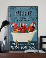 Parrot Bath Soap pt lqt ntv 11x17 Poster lifestyle-poster-2