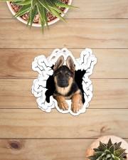 german shepherd crack sticker Sticker - 6 pack (Horizontal) aos-sticker-6-pack-horizontal-lifestyle-front-07