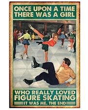 Figure skating girl once upon a time poster 24x36 Poster front