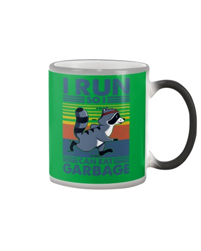raccoon running i run