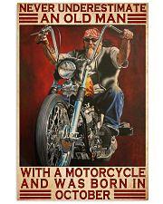 old man october harle davin poster 11x17 Poster front