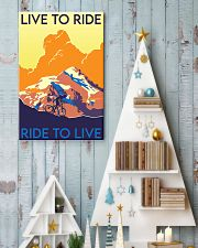 cycling live to ride poster 11x17 Poster lifestyle-holiday-poster-2