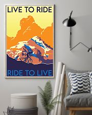 cycling live to ride poster 11x17 Poster lifestyle-poster-1