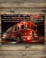 Fire truck ride called life poster ttb ngt 24x16 Poster aos-poster-landscape-24x16-lifestyle-15