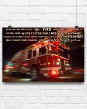 Fire truck ride called life poster ttb ngt 24x16 Poster aos-poster-landscape-24x16-lifestyle-18