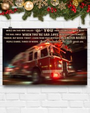 Fire truck ride called life poster ttb ngt 24x16 Poster aos-poster-landscape-24x16-lifestyle-29