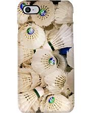 badminton shuttlecock pc phq ntv Phone Case i-phone-8-case
