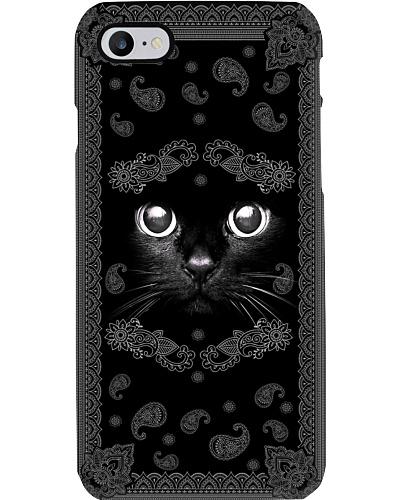 black cat phonecase