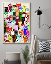 otter colorful many pt lqt cva 11x17 Poster lifestyle-poster-1