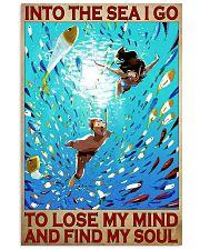 diving lose my mind find my soul pt dvhh pml 16x24 Poster front