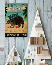 easily distracted by raccoons diving pt phq-NTH 11x17 Poster lifestyle-holiday-poster-2