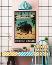 easily distracted by raccoons diving pt phq-NTH 11x17 Poster lifestyle-poster-6