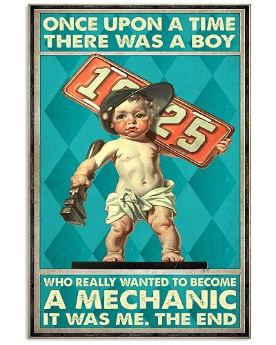 once boy mechanic