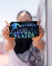 my favorite football player grandma mas Cloth Face Mask - 3 Pack aos-face-mask-lifestyle-07